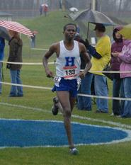 Peter Kosgei '10 (St. Lawrence sports information photo)