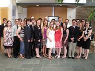 Members of the Class of 2010 elected to Sigma Xi.