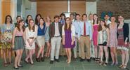 Members of the Class of 2012 who were initiated to associate membership in Sigma Xi.