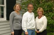 Lisa Magnarelli '96, Ray Cyr and Kelly Walton