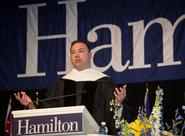 Thomas Tull '92 speaks at Hamilton's Commencement.