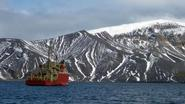 LM Gould in Antarctica - photo by Mason Fried '10