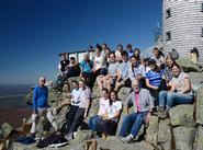 Biology 237 students and faculty at Whiteface Mountain.