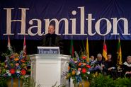Al Gore speaking at Hamilton's Commencement on May 22, 2011.