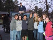Hamilton's Mississippi Habitat for Humanity ASB group in Roanoke, Va.