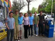 From left Alex Dao, Nate Schneck, Billy Wieczorek, Myriam Cotten, Daryl Berke, Matt Baxter and Wynn Stateman.