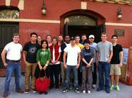 New York City Program students at the Bowery Mission.