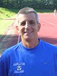 Hamilton College head men's soccer coach Perry Nizzi