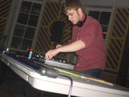 DJ David Borczuk '14.