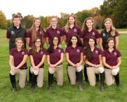 Abby Googel with her ten student team.