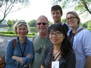 Pat O'Neill, Scott MacDonald, Su Yun Kim, Cameron Breslin '11 and Jori Belkin '11.