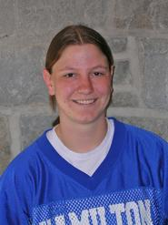 Women's lacrosse player honored by Web site
