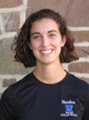 Head volleyball coach Erin Glaser