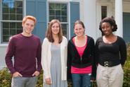 Brendan Carroll, Sarah Goodell, Hathaway Burden, Kenya Lee
