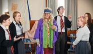 Hogwarts at Hamilton cast members.