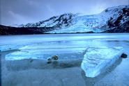 Eyjafjallajökull in Iceland.