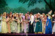 A scene from the Choir Musical <em>Iolanthe</em>.