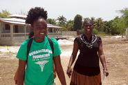 In August 2013, Jorett Joseph '15 traveled to Haiti to help create a literacy program at an orphanage with the nonprofit Humanitarian Foundation of Doctor Dufreny.