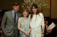 Posse board chair Jeffrey Ubben, President Stewart and Posse president and founder Deborah Bial.