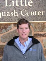Head squash coach Jamie King