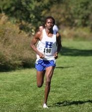 Peter Kosgei '10 (John Hubbard photo)