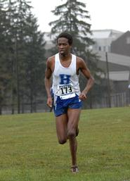Peter Kosgei '10 (Grant Fullman photo)