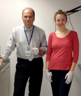 Elizabeth Larson '16 Studying With Brown University Professor, Physician
