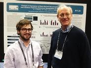 Danny Lustberg '14, and Douglas Weldon, the Stone Professor of Psychology.