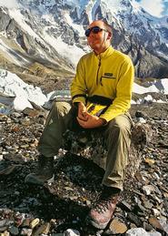 Mick Confrey at K2.