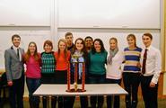 Mock Trial Team Wins First Prestigious Ivy League Tournament