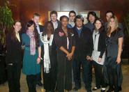 Hamilton's Model UN delegates.