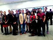 New York Program students toured MoMA on Nov. 14.