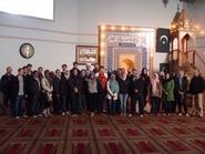 Arabic classes visited the mosque in Utica on Dec. 4.