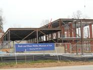 The Ruth and Elmer Wellin Museum of Art takes shape.