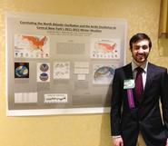 Marko Nikic '13 at the Northeastern Storm Conference.