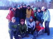Hamilton's Nordic Ski Team.