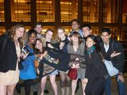 NYC Program students at Lincoln Center.