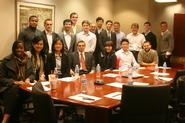 New York Program students at hedge fund Priority Capital.