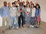 Hamilton Program in New York students at the Whitney Museum