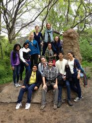 Hamilton NYC Program students visit the Bronx Zoo.