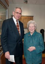 Dr.Walter Brumm and Patsy Couper.