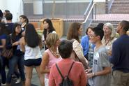 The Multicultural Peer Mentoring Project held a welcome reception.