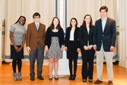 The winners of the 2011 Public Speaking Competition.