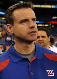 New York Giants wide receivers coach Sean Ryan '94