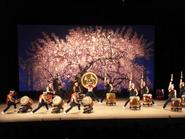 Japanese taiko drumming and dance group.