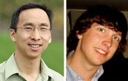 Stephen Wu and Kendall Weir '12