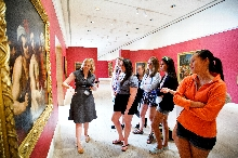 Students spent the day touring the Munson Williams Proctor Arts Institute in Utica, N.Y.