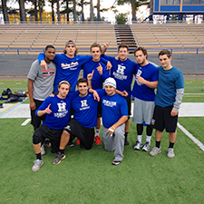 Back to Back, the Fall 2015 Intramural Football Champions
