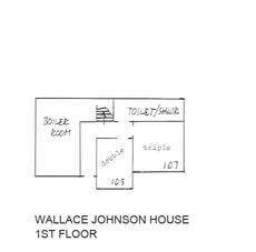 Wallace Johnson House - 1st Floor
