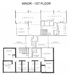 Minor - 1st Floor